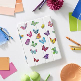papillon futé de couverture de l'iPad 2/3/4 Protection iPad