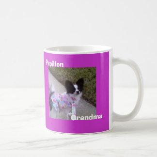 Papillon, grand-maman mug