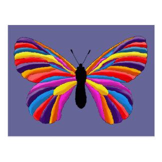 Papillon impossible carte postale