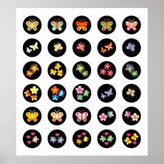 Papillon noir 1 posters