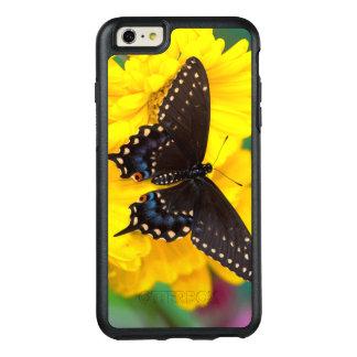 Papillon noir de machaon coque OtterBox iPhone 6 et 6s plus