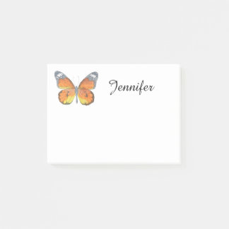 Papillon orange post-it®