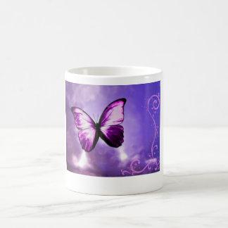 Papillon pourpre mug