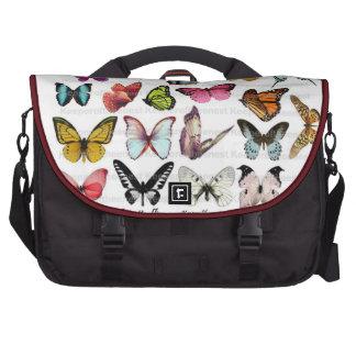 papillon rempli sac ordinateur portable