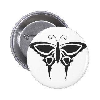 Papillon tribal pin's avec agrafe