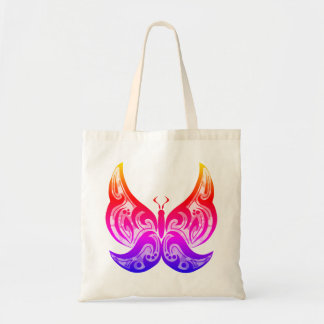 Papillon tribal Fourre-tout - Brights Tote Bag