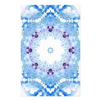 Papillons assez bleus motifs pour papier à lettre