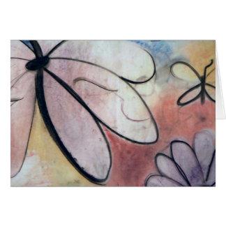Papillons, carte de note par Brad Hines