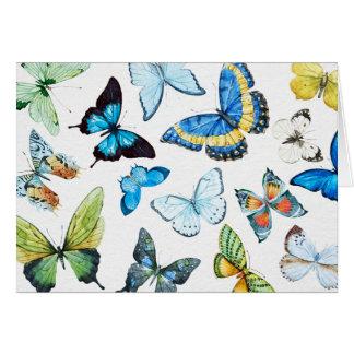 Papillons Carte De Vœux