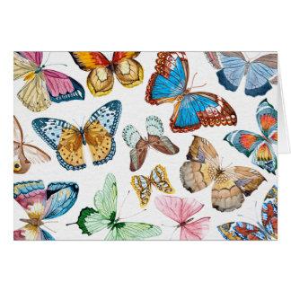 Papillons Cartes