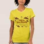 Papillons de monarque t-shirts