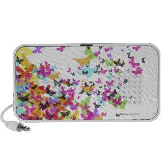 Papillons de vol haut-parleur