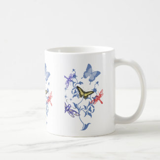 Papillons d'été mug