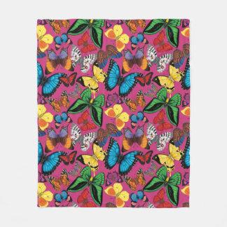 Papillons du monde (rose)