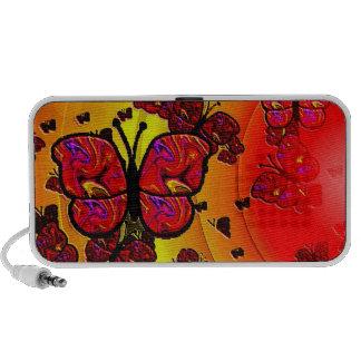 Papillons Haut-parleur Mobile