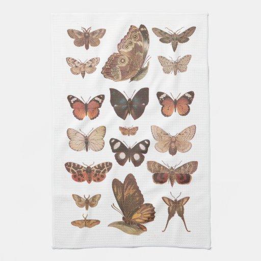 Papillons Linge De Cuisine