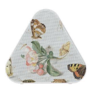 Papillons, mites et d'autres insectes haut-parleur bluetooth