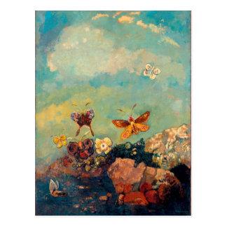 Papillons | Odilon Redon Carte Postale