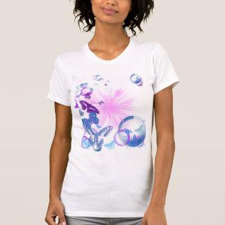 papillons psychédéliques t-shirts