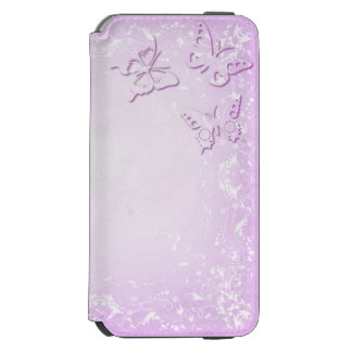 Papillons roses coque-portefeuille iPhone 6 incipio watson™