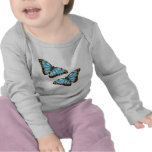 Papillons sauvages t-shirt