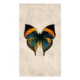 Papillons vintages de l'illustration 1800's de pap modèles de cartes de visite