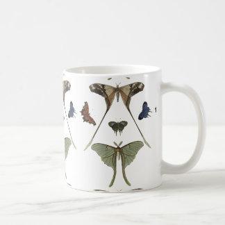 Papillons vintages mug