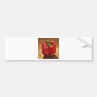 Paprika Rouge Autocollant Pour Voiture