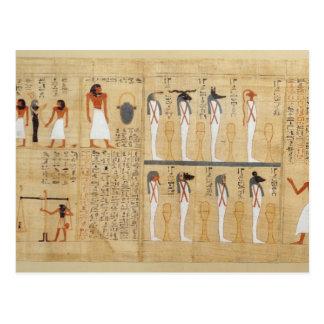 Papyrus mythologique d'Imenemsaouf Carte Postale