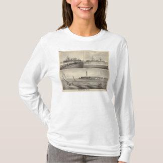 Paquebot Amerique d'admission de Barnegat T-shirt