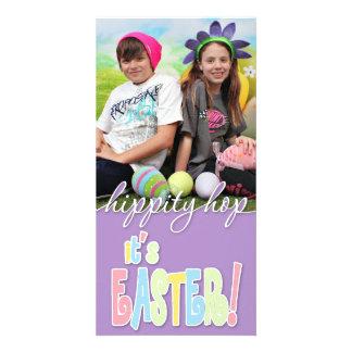 Pâques - enfants carte avec photo