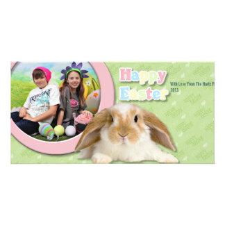 Pâques - enfants photocarte
