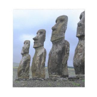 Pâques-Île Blocs Notes