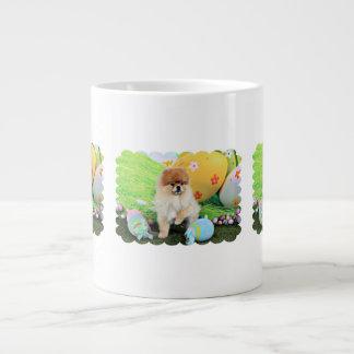 Pâques - Pomeranian - Dexter Mug Extra Large