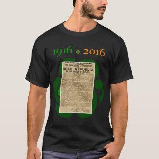 Pâques se levant chemise 1916 - 2016 commémorative t-shirt
