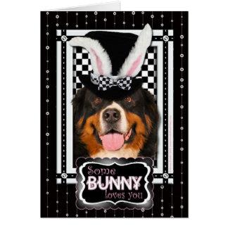 Pâques - un certain lapin vous aime - Bernie Cartes