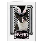 Pâques - un certain lapin vous aime - Boston Terri Carte De Vœux