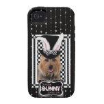 Pâques - un certain lapin vous aime - Terrier aust Coques Case-Mate iPhone 4