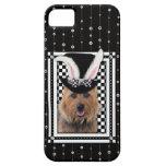 Pâques - un certain lapin vous aime - Terrier aust Coques Case-Mate iPhone 5