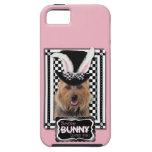 Pâques - un certain lapin vous aime - Terrier aust Étui iPhone 5