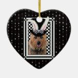 Pâques - un certain lapin vous aime - Terrier aust Ornements