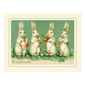 Pâques vintage carte postale