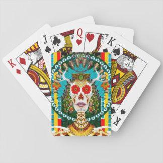 Paquet de cartes de La Reina De Los Muertos Jeu De Cartes