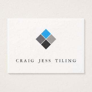 Paquet de cartes de visite propre et professionnel