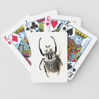 Paquet de cartes d'insecte jeu de poker