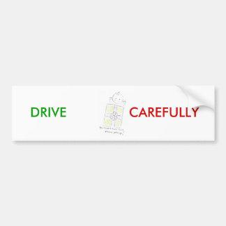Paquet précieux autocollant de voiture