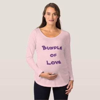"""""""Paquet T-shirts de maternité de douille d'amour"""""""