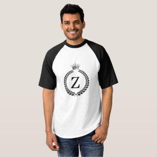 par le T-shirt de base-ball de couronne d'Eddie