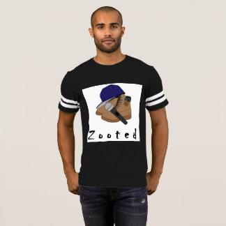 par le T-shirt de Zooted de microphone d'Eddie