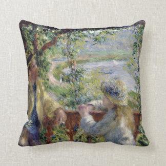 Par l'eau, Auguste Renoir Coussins Carrés